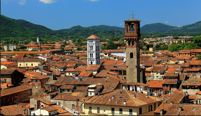 Lucca - Via Francigena