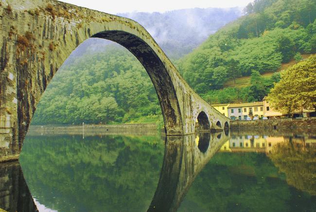 Ponte del Diavolo - Via Francigena
