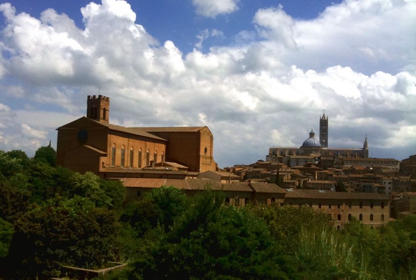 Siena - via Francigena