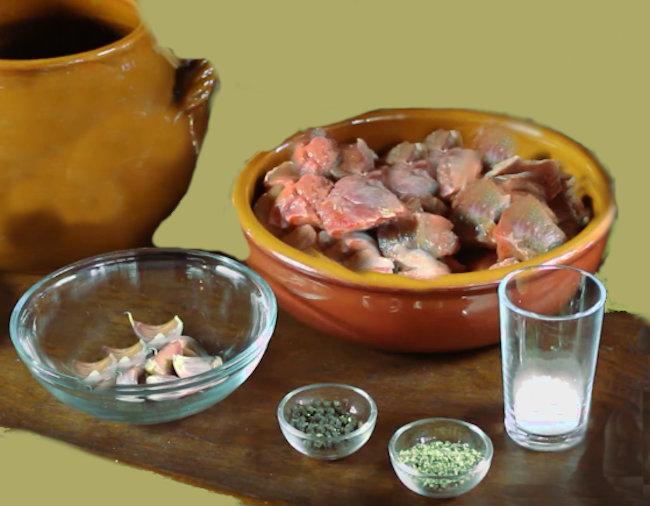 carne di manzo in piccoli bocconcini
