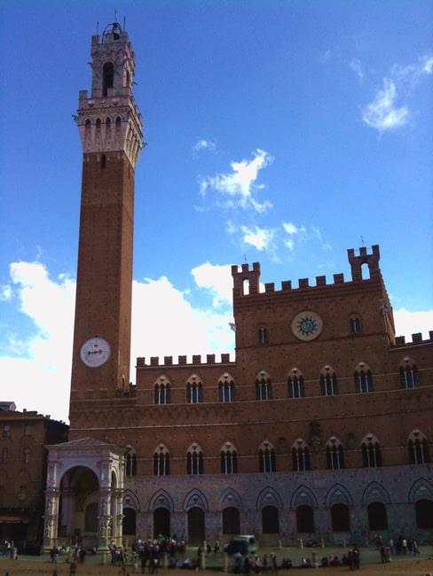 La Torre del Mangia Siena