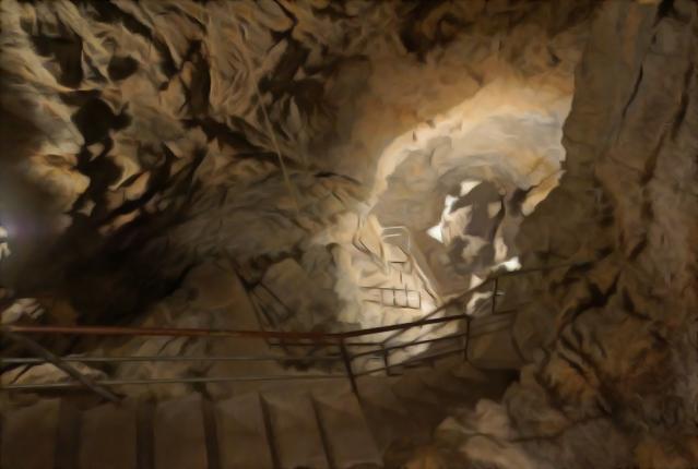 Grotta del Vento - Itinerario numero 2