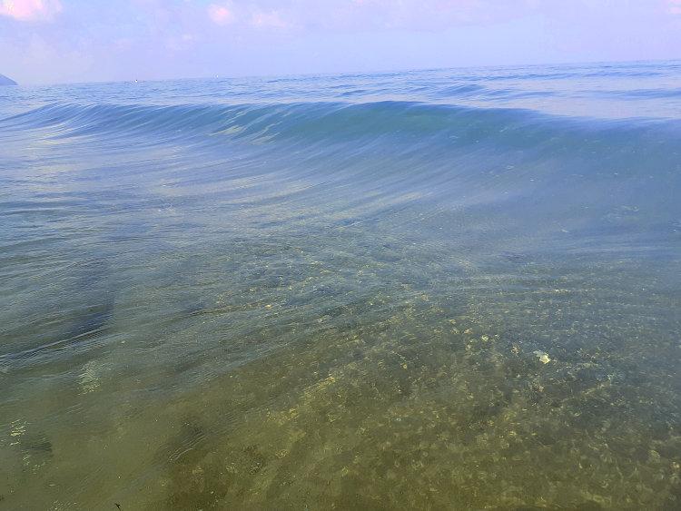 Il mare cristallino di Rimigliano